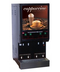 Grindmaster-Cecilware 4K-GB-LD Cappuccino Dispenser with 4 Hoppers - 120V