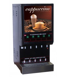 Grindmaster-Cecilware 5K-GB-LD Cappuccino Dispenser with 5 Hoppers - 120V