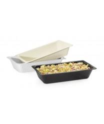 GET Enterprises ML-176-IV Ivory Melamine Casserole Dish, 8 Qt.