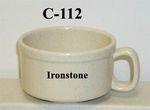 GET Enterprises C-112-IR Santa Fe Ironstone Melamine Mug, 12 oz. (1 Dozen)