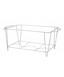 Winco C-3F Chrome Plated Wire Chafer Stand