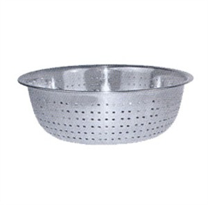 Winco CCOD-13S Stainless Steel Chinese Colander, 13