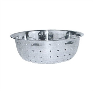 Winco CCOD-13L Stainless Steel Chinese Colander, 13
