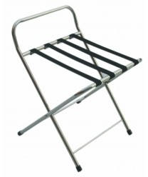 Aarco CLS Chrome Folding Luggage Stand