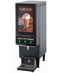 Grindmaster-Cecilware GB3CP Cappuccino Dispenser with 3 Hoppers - 120V