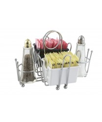 Winco WH-1 Chrome Plated Wire Condiment Holder