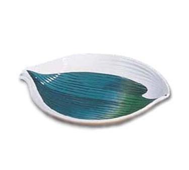"""GET Enterprises 133-21-CO Contemporary Japanese Leaf Plate, 8""""(1 Dozen)"""