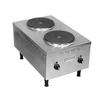 Grindmaster-Cecilware EL-24SH Countertop Electric 2-Burner Hotplate