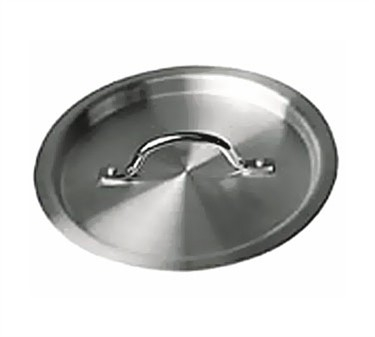 Winco SSTC-40 Stainless Steel Stock Pot Cover, fits SST-40, SSLB-20