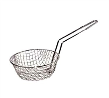 "Winco MSB-12 Coarse Mesh Culinary Basket, 12"""