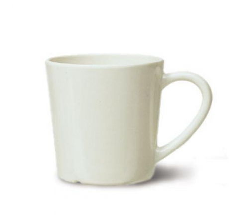 GET Enterprises C-107-IV Diamond Ivory Mug, 7 oz. (2 Dozen)
