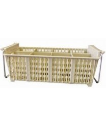 Winco PCB-8 8-Compartment Cutlery Basket with Handle