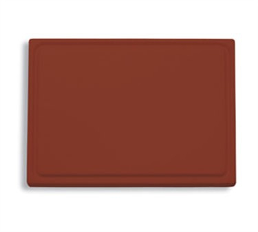 "FDick 9153000-15 Brown Cutting Board with Groove 20-3/4"" x 12-3/4"" x 3/4"""