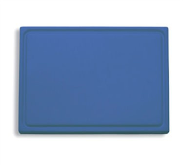 "FDick 9153000-12 Blue Cutting Board with Groove 20-3/4"" x 12-3/4"" x 3/4"""