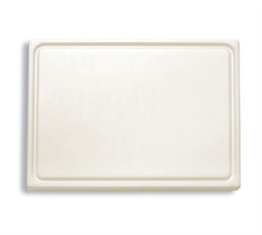 "FDick 9153000 White Cutting Board with Groove 20-3/4"" x 12-3/4"" x 3/4"""