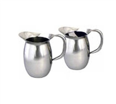 Winco WPB-3 Deluxe Bell Water Pitcher 3 Qt.