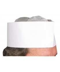Winco DCH-3 Disposable Chef's Hat 3