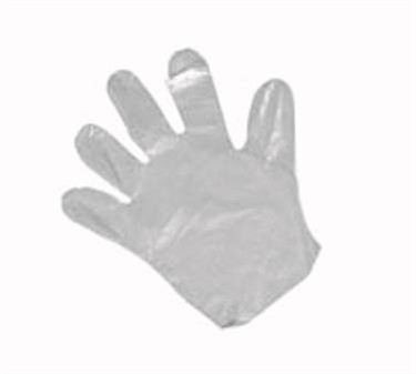 Winco GLP-L Large Disposable Textured Gloves, 500 Pieces