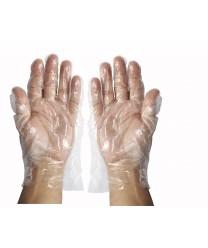 Winco GLP-M Medium Disposable Textured Gloves, 500 Pieces