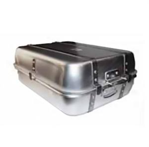 "Winco ALRP-1824 Aluminum Double Roast Pan with Straps 18"" x 24"""