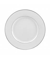 10 Strawberry Street DSL0001 Double Silver Line Dinner Plate 10-3/4'' - Case of 24