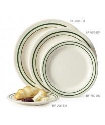 "GET Enterprises BF-090-EM Emerald Round Plate, 9""(2 Dozen)"