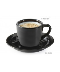 GET Enterprises C-1004-BK Black Elegance Espresso Cup, 3 oz. (4 Dozen)