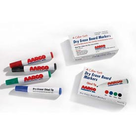 Aarco M-4 Dry Erase Markers, 4 Pack