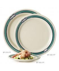 "GET Enterprises BF-060-FP Freeport Round Plate, 6-1/4""(4 Dozen)"