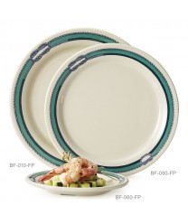 "GET Enterprises BF-010-FP Freeport Round Plate, 10""(1 Dozen)"