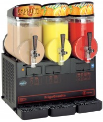 Grindmaster-Cecilware MT3ULBL FrigoGranita Triple Slush Machine, 7.5 Gallon