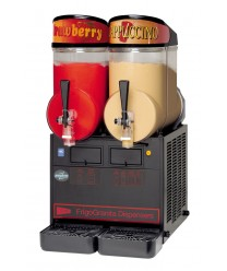 Grindmaster-Cecilware MT2ULBL FrigoGranita Twin Slush Machine with Black Finish, 5 Gallon