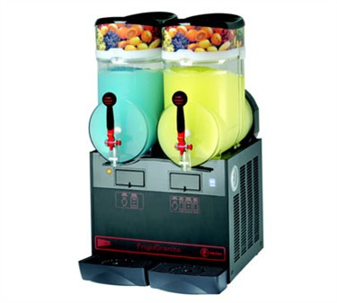 Grindmaster-Cecilware GIANT2BL FrigoGranita Twin Slush Machine with Black Finish, 8 Gallon