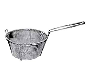 Winco FBRS-11 Round Mesh Wire Fry Basket, 11-1/4""