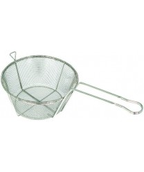 Winco FBRS-8 Round Mesh Wire Fry Basket, 8-1/2""