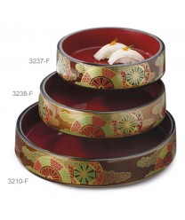 "GET Enterprises 3237-F Fuji Japanese Sushi Box, 8-1/4""(6 Pieces)"