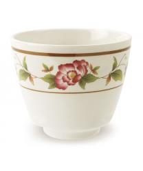 GET Enterprises M-077C-TR Tea Rose Melamine Tea Cup, 5-1/2 oz. (2 Dozen)
