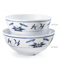 GET Enterprises M-707-B Water Lily Melamine Bowl, 40 oz. (1 Dozen)