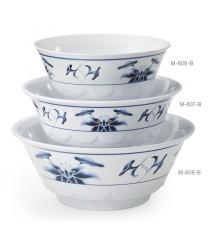 GET Enterprises M-808-B Water Lily Melamine Wave Bowl, 52 oz. (1 Dozen)