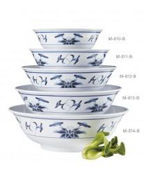 GET Enterprises M-811-W Water Lily Melamine Bowl, 52 oz. (1 Dozen)