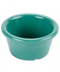 GET Enterprises S-620-FG Rainforest Green Melamine Ramekin, 2 oz. (4 Dozen)
