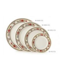 "GET Enterprises M-5050-CG Garden Dynasty Melamine Plate, 8""(1 Dozen)"