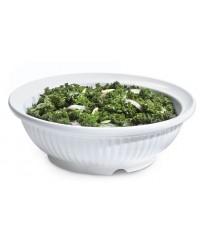 GET Enterprises B-793-W Geneva White Melamine Bowl, 24 oz. (1 Dozen)