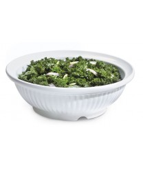 GET Enterprises B-795-W Geneva White Bowl, 3 Qt. (3 Pieces)