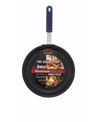 Winco AFP-10XC-H Gladiator Excalibur Non-Stick Fry Pan with Red Silicone Sleeves 10""