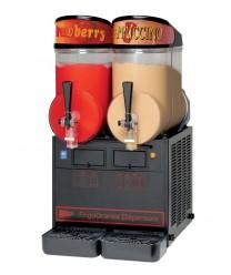 Grindmaster-Cecilware NHT2ULBL Double Bowl Granita Dispenser with Black Finish, 5 Gallon