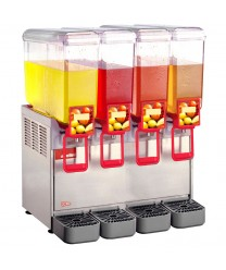 Grindmaster-Cecilware 20/4PD Arctic Deluxe Four Bowl Cold Beverage Dispenser, 5.4 Gallon