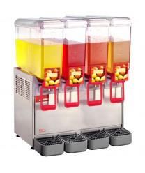 Grindmaster-Cecilware 20/4PE Arctic Economy Four Bowl Cold Beverage Dispenser, 5.4 Gallon