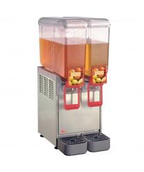 Grindmaster-Cecilware 8/2 Arctic Compact Twin Bowl Cold Beverage Dispenser, 2.2 Gallon