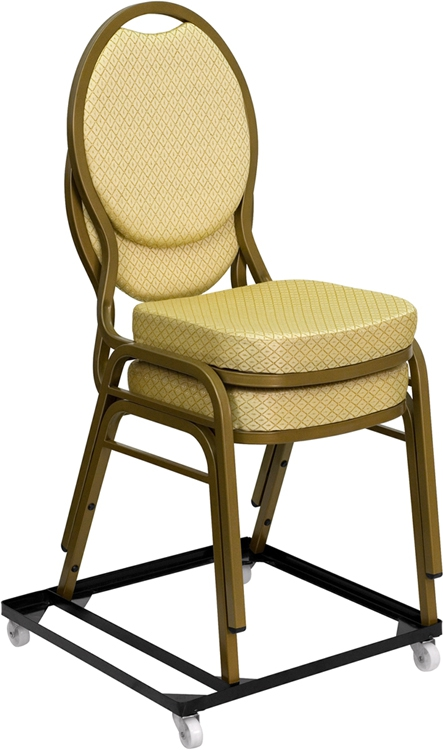 Flash Furniture HERCULES Series Steel Stack Chair and Church Chair Dolly [FD-BAN-CH-DOLLY-GG]